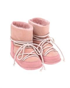 Розовые пинетки мунбуты детские Inuikii