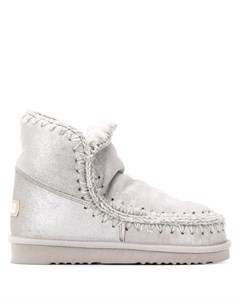 Ботинки Eskimo с эффектом металлик Mou