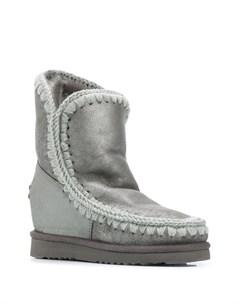 Ботинки Eskimo с потайной танкеткой Mou