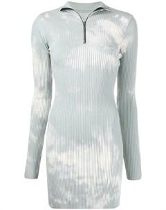 Платье в рубчик с выбеленным эффектом Cotton citizen