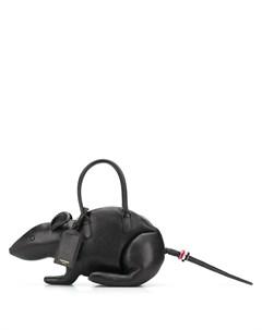 сумка Rat из зернистой кожи Thom browne