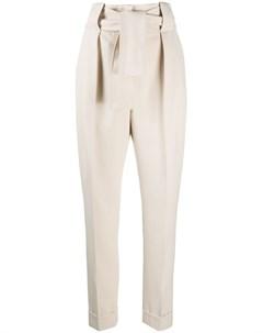 Зауженные брюки с завязками Sara battaglia