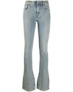 Расклешенные джинсы с завышенной талией Ssheena