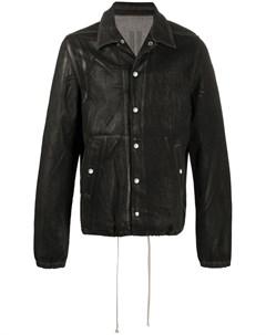 Куртка с эффектом потертости Rick owens drkshdw