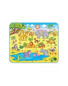 Игровой коврик Сафари 160х130х0 5 см Mambobaby