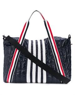 дорожная сумка с полосками 4 Bar Thom browne