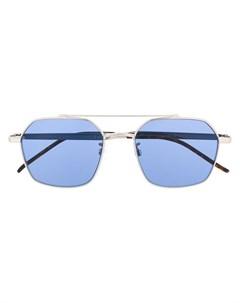 очки в шестиугольной оправе Tommy hilfiger