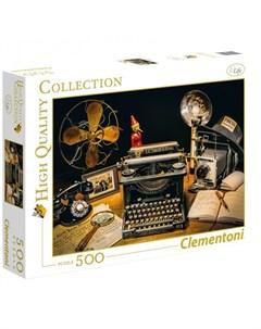 Пазл Классика Рио де Жанейро Пишущая машинка 500 элементов Clementoni