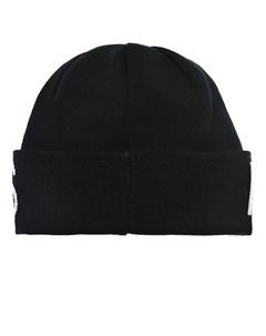 Шерстяная шапка с логотипом на отвороте Parajumpers