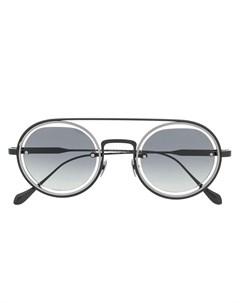 солнцезащитные очки с затемненными линзами Giorgio armani