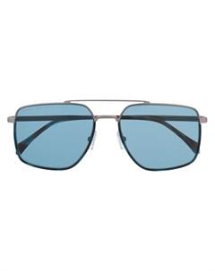 солнцезащитные очки в квадратной оправе Boss