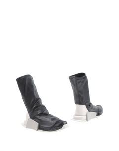 Полусапоги и высокие ботинки Rick owens x adidas
