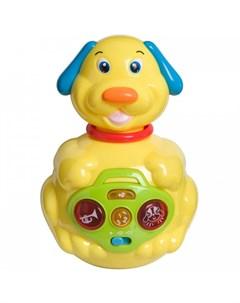 Развивающая игрушка неваляшка Собачка Bondibon