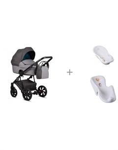 Коляска Zippy 2 в 1 с ванной и креслом в ванну Tega Baby Лесная Сказка Tutiс