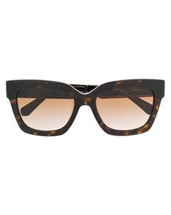 солнцезащитные очки в квадратной оправе Michael kors
