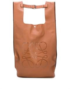 Рюкзак с тисненым логотипом Loewe