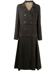 Двубортное пальто Cherevichkiotvichki