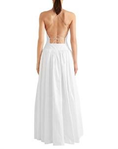 Длинное платье Alaia