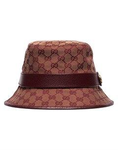 парусиновая панама с узором GG Supreme Gucci