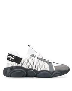 Кроссовки со вставками Moschino