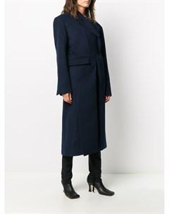 Однобортное пальто строгого кроя Ottolinger
