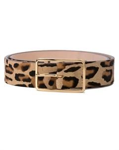 Ремень с леопардовым принтом B-low the belt