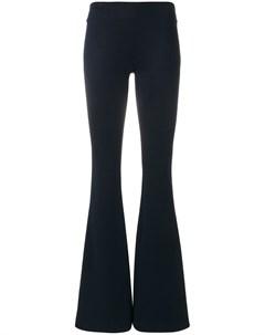 Трикотажные расклешенные брюки Galvan