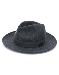 трикотажная шляпа федора Emporio armani
