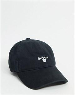 Черная бейсболка Barbour