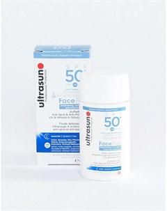 Лосьон с защитой от вредного воздействия окружающей среды SPF 50 флюид для лица 40 мл Ultrasun