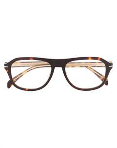 Солнцезащитные очки в оправе черепаховой расцветки Eyewear by david beckham
