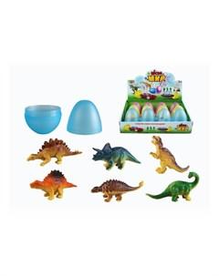 Игровой набор Животные в яйце 12 шт M0289 1 Yako