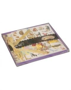 Фотоальбом с набором для скрапбукинга Шебби шик Color kit