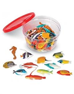 Игровой набор фигурок Рыбки 60 элементов Learning resources