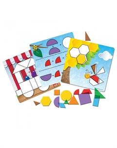 Развивающая игрушка Игровой набор Фигуры умеют жужжать 156 элементов Learning resources