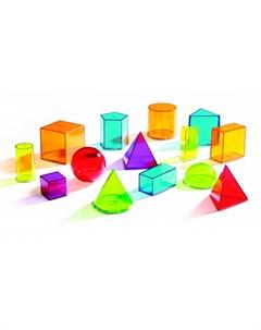 Игровой набор Объемные геометрические фигуры 14 элементов Learning resources