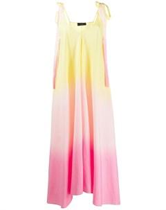 Платье миди с эффектом омбре Alanui