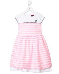 платье в полоску Aigner kids