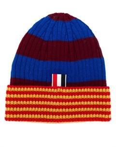 шапка FC Barcelona в полоску Thom browne