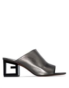 Мюли на скульптурном каблуке Givenchy