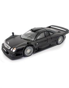 Машинка Mercedes Benz CLK GTR street version 1 18 чёрная Maisto