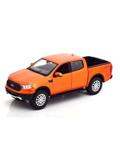 Машинка Ford Ranger 2019 1 24 оранжевая Maisto