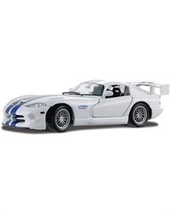 Машинка Dodge Viper GT2 1 18 белая Maisto