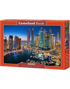 Пазл Небоскребы Дубая 1500 элементов Castorland