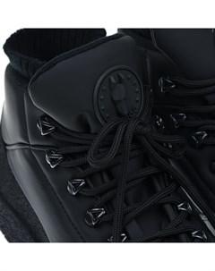 Мембранные сапоги черного цвета детские Jog dog