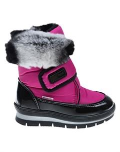 Мембранные сапоги розового цвета детские Jog dog