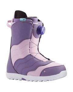 Ботинки для сноуборда женские Mint Purple Lavender 2021 Burton