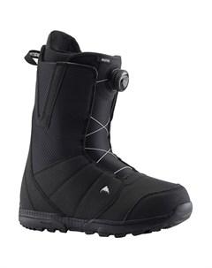Ботинки для сноуборда мужские Moto Black 2021 Burton