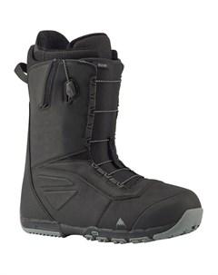 Ботинки для сноуборда мужские Ruler Black 2021 Burton