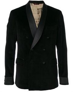 Двубортный пиджак смокинг Al duca d'aosta 1902